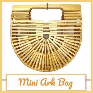 Mini Ark Bag Clutch Natural Like New